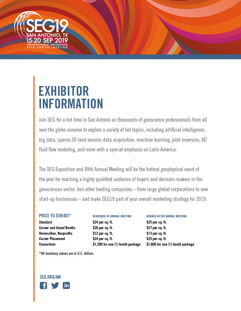 Exhibitor Information Brochure